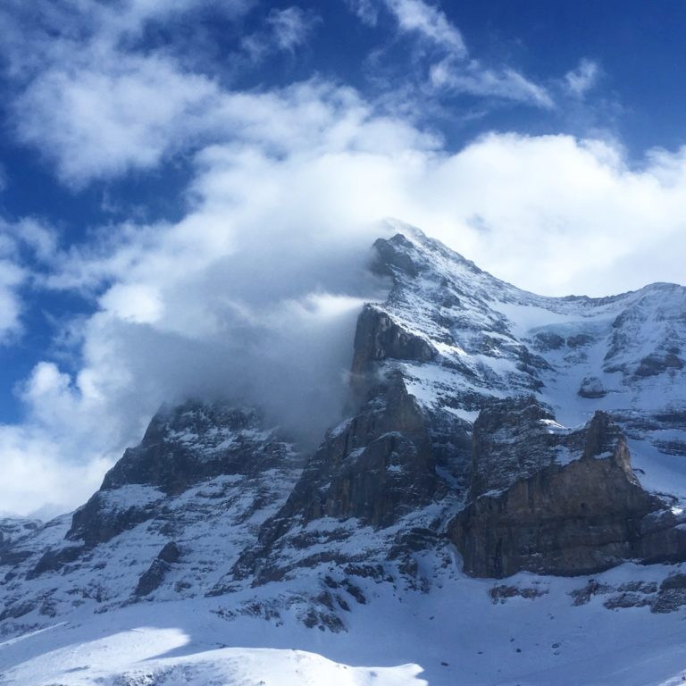 Atmospheric Eiger Picture