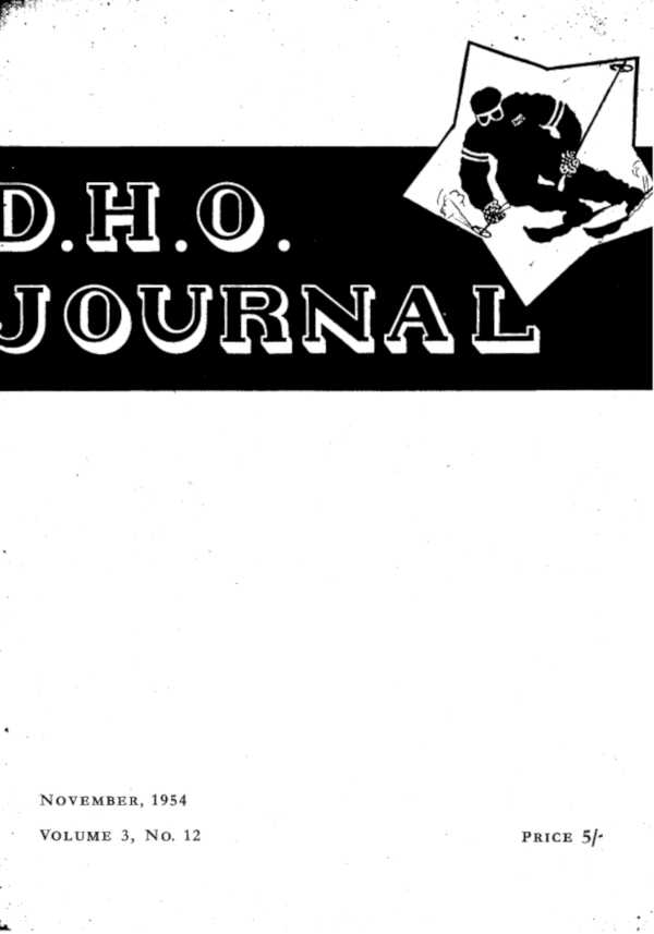 Journal Cover 1954