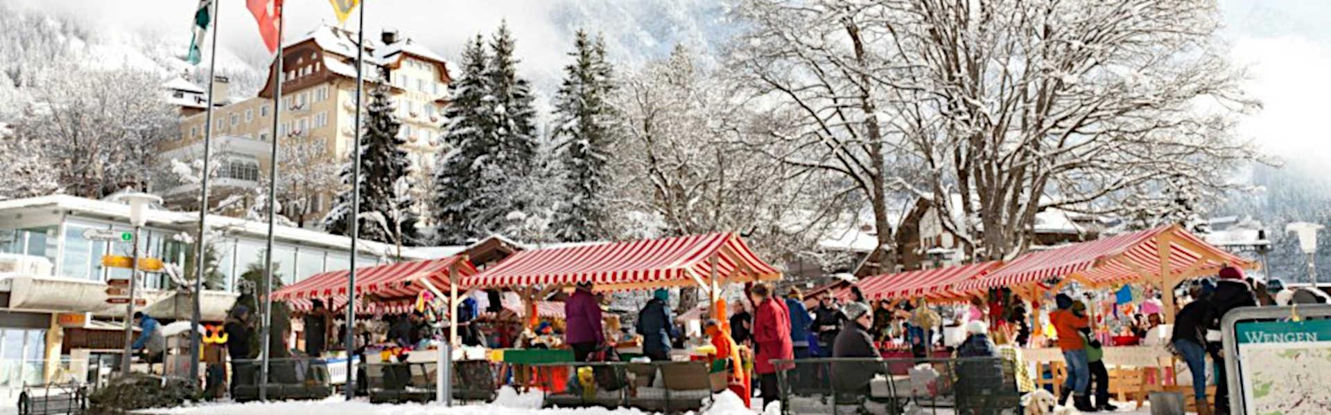 Wengen Advent Market 2019