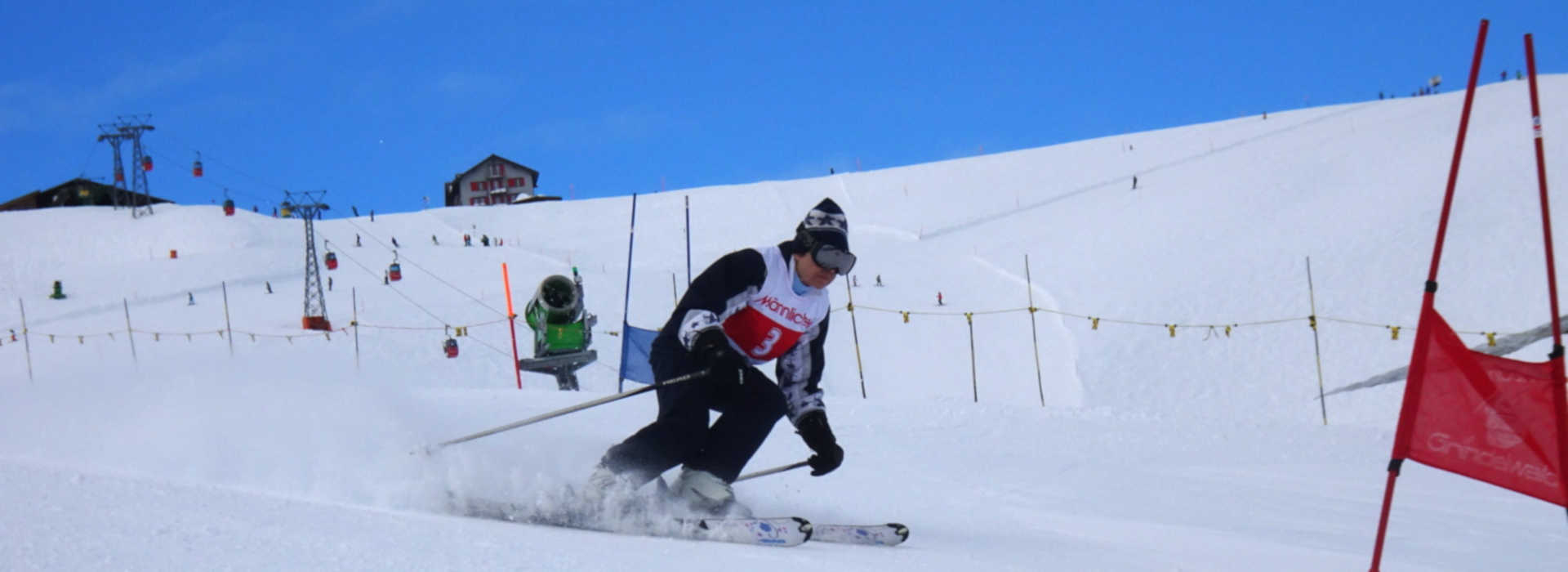 Downhill Only Ski Club - racing picture