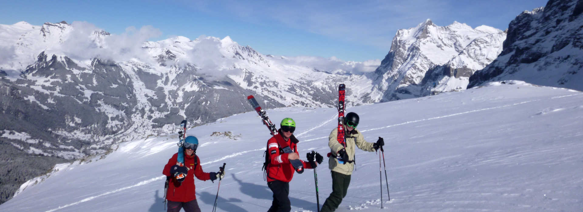 Downhill Only Ski Club - touring picture