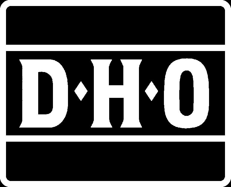 Dho Logo White
