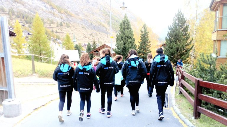 DHO Trainees Walking