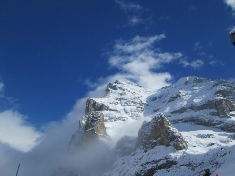 Eiger West Flank And Mist Picture
