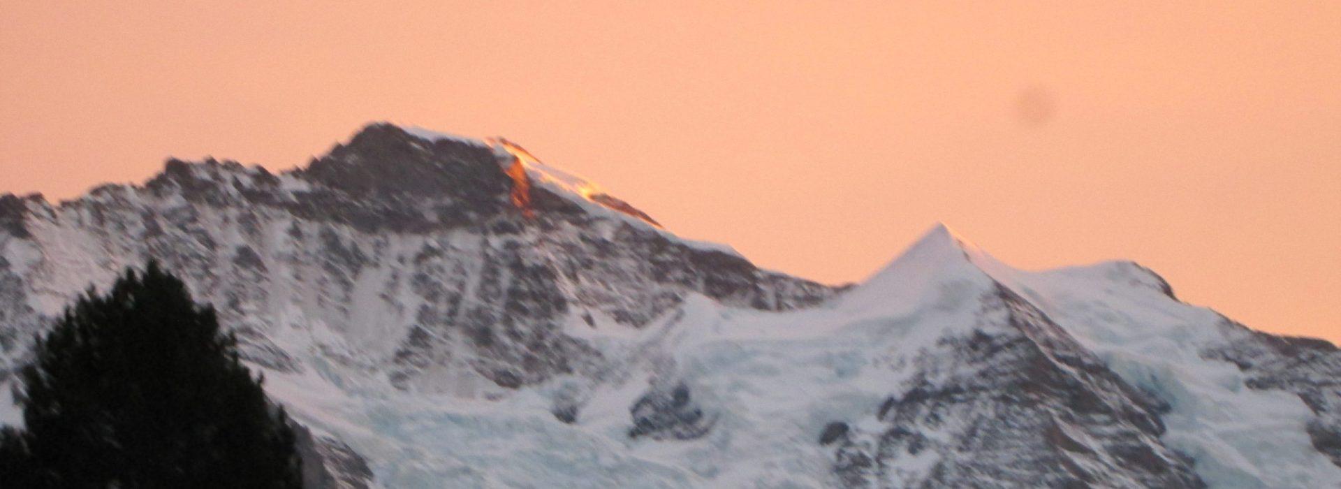 Jungfrau Sunset Picture