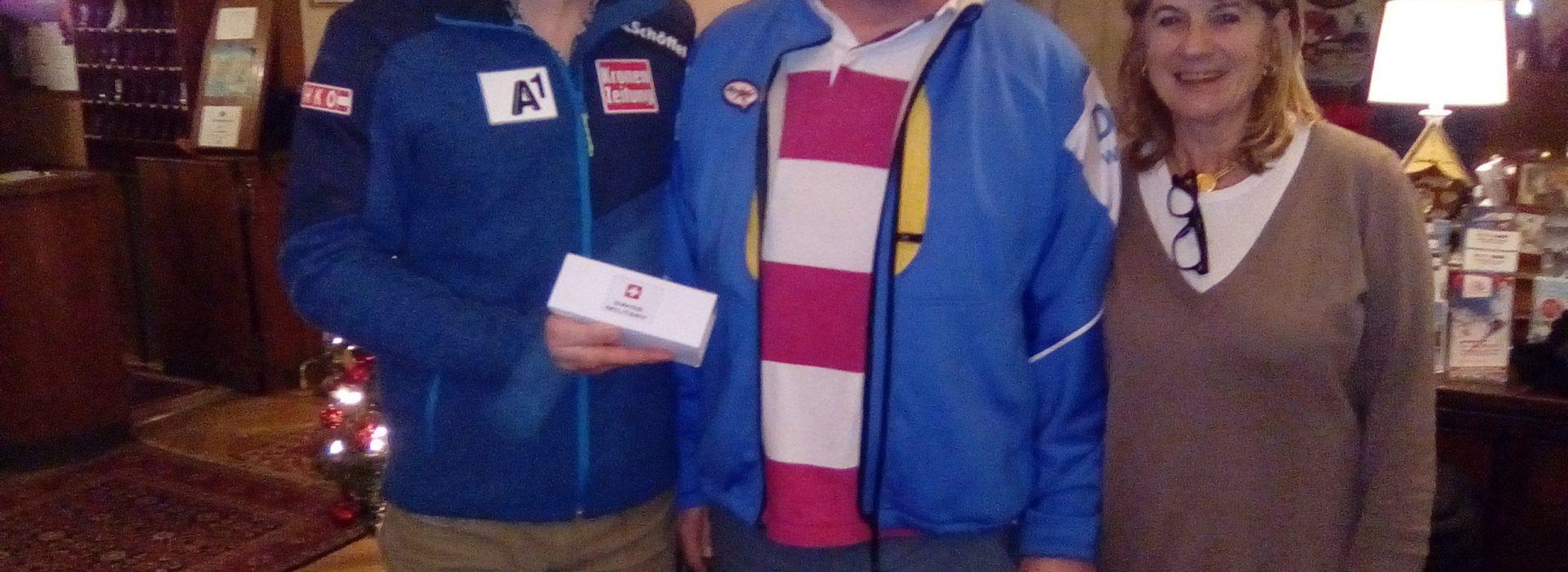 Joe Accepts His Prize Picture